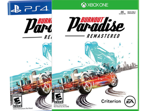 Race to Amazon and grab Burnout Paradise Remastered on Xbox One or PlayStation 4 for $30