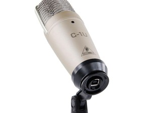 Start podcasting straight away with the £26 Behringer C-1 U Condenser Mic