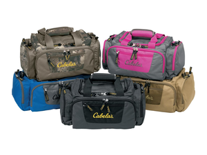 Pack up supplies for a day trip in Cabela's $10 Catch-All Gear Bag