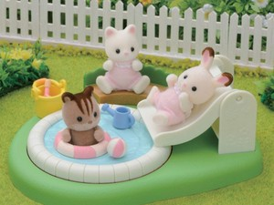 Pick up a new Calico Critters baby pool set for only $10