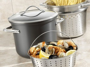 Add to your kitchen arsenal with discounted Calphalon cookware
