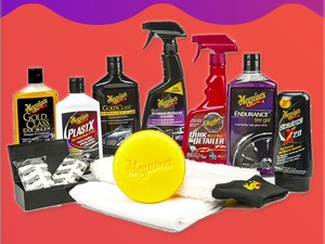 Take care of your car with Meguiar's Complete Car Care Kit for only $38