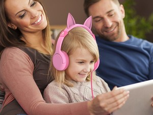 These $10 iClever kids cat headphones are the cutest things ever