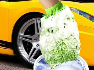 These chenille washing mitts will make your car look new again