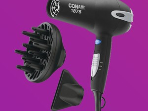 You'll have only good hair days now with the $20 Conair Ionic Ceramic Hair Dryer