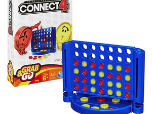 Play Connect 4 on-the-go with this $5 compact edition
