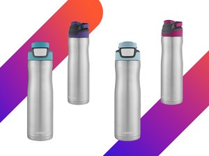 Stay hydrated with these $12 Contigo Autoseal Chill water bottles