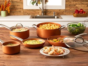 Today only, score 25% off Copper Chef Cookware
