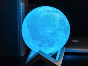 Bring the light of the moon into your room with 20% off CPLA Moon Lamps