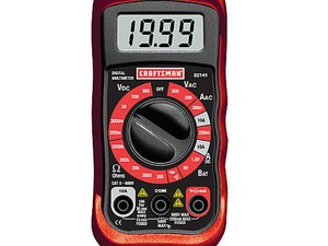This $10 Craftsman multimeter will help you work smarter and safer