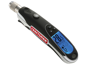 Make sure your car's tires go the distance with this $13 programmable Craftsman Digital Tire Gauge