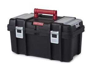 Store your DIY supplies in this $10 Craftsman 19-inch toolbox