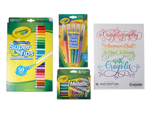 Create stunning hand lettering and more with Crayola's $18 Calligraphy Beginner Kit