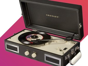 Play your vinyl records with this stylish $30 Crosley turntable