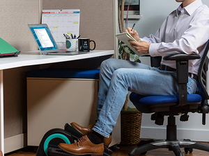 Stay active while you work with this Cubii Jr Desk Elliptical for just $185 today