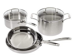 Upgrade your kitchen with Cuisinart's $110 6-piece cookware set