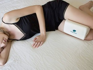 Relieve aches and pains with this $14 Cushy Form Sciatic Nerve Pillow