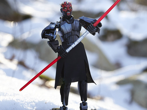 Star Wars fans can add the Lego Darth Maul Buildable Figure to the collection for $16