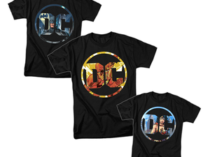 Suit up with one of these $10 DC Comics Justice League shirts
