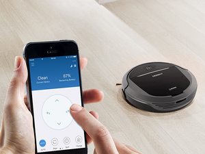 Schedule the $200 Deebot M81Pro Robot Vacuum's next clean-up using your phone