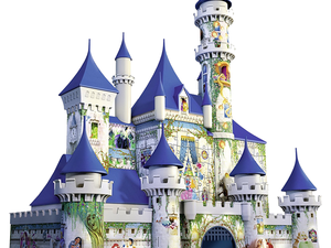 Build this 3D Disney Castle puzzle featuring over 100 beloved characters for $32