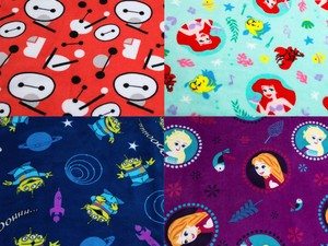 These adorable Disney fleece throw blankets are only $8 shipped