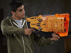 Serve justice with Nerf's $30 The Judge