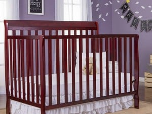 Get ready for baby with this $100 Dream On Me Convertible 5-in-1 Crib