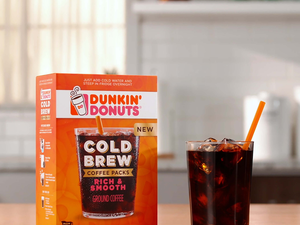 Try out the new Dunkin' Donuts Cold Brew Coffee Pack for free