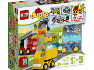 Lego Duplo's $16 My First Cars and Trucks kit is just the right size for little hands