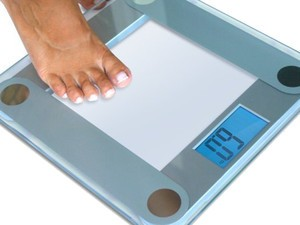 Track your weight progress with the $14 EatSmart precision digital bathroom scale