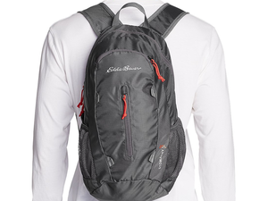 Sling one of these Eddie Bauer backpacks over your shoulder for just $15