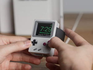 Disguise your Apple Watch as a Game Boy with this $13 Elago W5 stand at a new low price