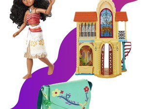 Buy 2 get 1 free on Disney Moana, Tangled and Elena dolls, play sets, and more