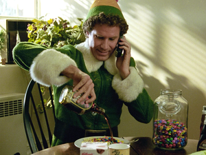 Party with Buddy on Christmas with a free movie rental of Elf in digital HD
