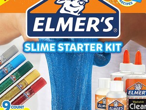 Fuel your kids' latest obsession with the $7 Elmer's Slime Starter Kit