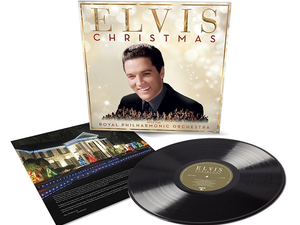 Pretend like it's Christmas with Elvis and the Royal Philharmonic Orchestra on vinyl for only $7
