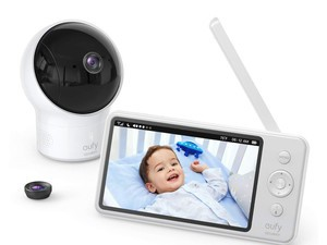 Keep auditory and visual tabs on the littles with the $85 Eufy SpaceView Baby Monitor