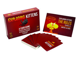 Use catnip sandwiches to save yourself in the $15 Exploding Kittens card game