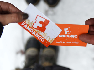 Pay with Google for buy one, get one free movie tickets at Fandango