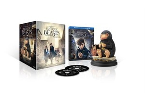 Get your hands on this Fantastic Beasts And Where To Find Them Blu-ray and Niffler figurine for $52