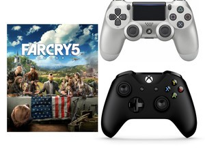 Get Far Cry 5 with an Xbox One or PlayStation 4 controller for $80 total