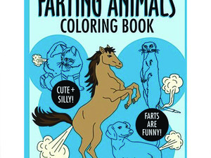 Everybody toots! The Farting Animals Coloring Book is on sale for $5
