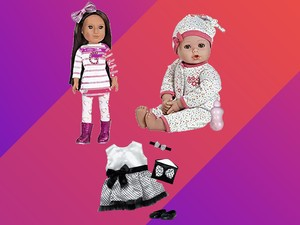 Today only, Glitter Girls and Adora dolls, plus accessories are on sale from $6