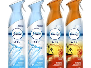 Enhance your spring cleaning with this $9 four-pack of Febreze Air Freshener
