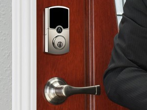 The Array by Hampton Smart Lock is a smarter deadbolt for your front door