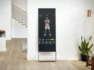 The Mirror Interactive Home Gym gives you a workout without the gym