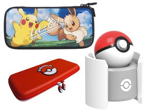 Brace for Pokémon: Let's Go with these new themed Hori Switch accessories