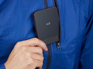 LaCie's new portable SSDs use USB-C for super fast transfer speeds