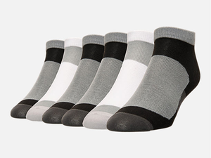 Keep your toes warm with 12 pairs of Finish Line no-show socks for only $10